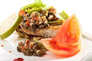 filetto di pesce foto