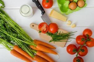 verdura primaverile, preparazione