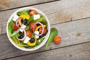 insalata fresca e salutare