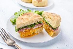 muffin sandwich foto