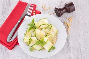 insalata di zucchine foto