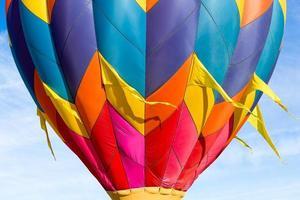 mongolfiera colorata foto