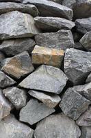 roccia frantumata foto