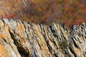 cresta di roccia foto