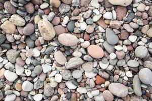 piccola struttura del fondo della roccia del ciottolo foto