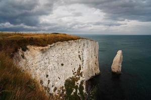 vecchie rocce harry nel Dorset.