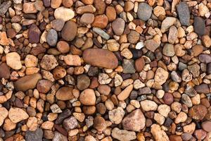 rocce fluviali. foto