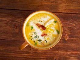 zuppa di pancetta peperoncino peperoncino mais