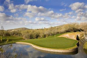 campo da golf del resort foto