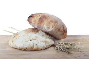 pane con spighe d'orzo foto