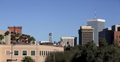 moderno e antico centro di Tucson, az foto