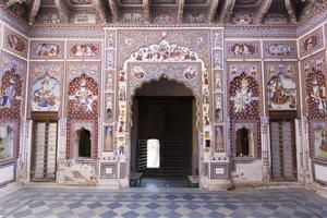 affreschi haveli. foto