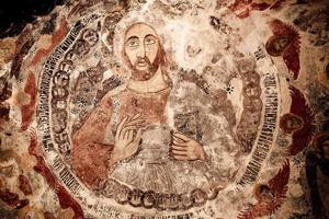 affresco del monastero di Sumela foto