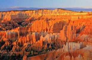 alba del canyon di Bryce foto