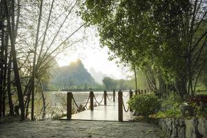 scenario fluviale foto