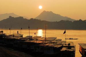 fiume Mekong foto