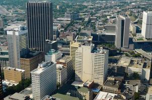 paesaggio urbano di Atlanta foto