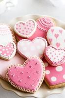 biscotti di San Valentino foto