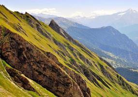 montagne in estate