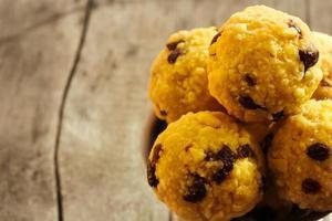 dolce indiano laddu per diwali