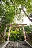 nella prefettura di gunma in Giappone, primavera calda dell'Ikaho foto