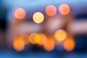 sfondo astratto di luci sfocate con effetto bokeh