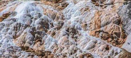 dettaglio di deposizione minerale foto