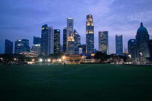 orizzonte di Singapore