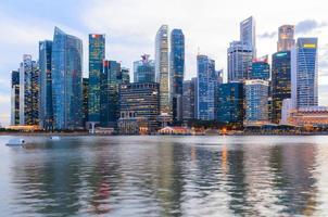centro di Singapore