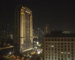 skyline di singapore foto