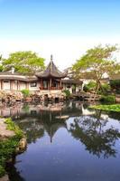 giardino del pescatore a Suzhou, Cina