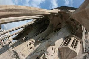 pilastri della Sagrada Familia foto