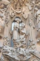 esterno della sagrada familia foto