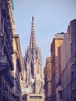 cattedrale di barcellona foto