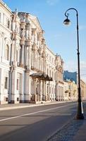 vista della città a san pietroburgo, russia foto