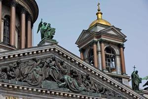 Cattedrale di San Isacco a San Pietroburgo, Russia foto