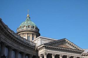 Cattedrale ortodossa di Kazan. San Pietroburgo, Russia foto
