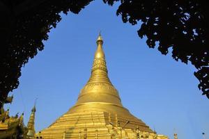 Swedagon, Yangon, Myanmar foto
