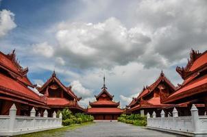 Grand Palace di Mandalay foto