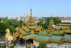Shwedagon Paya Pagoda, Yangon, Myanmar