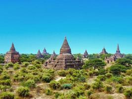 Pagoda in Bagan (pagano), Mandalay, Myanmar foto