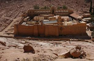 st. il monastero di catherine foto