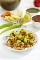 sev puri, voce chat, india foto