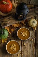 zuppa di zucca di halloween