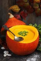 zuppa di zucca foto