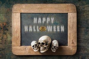 ardesia di halloween foto