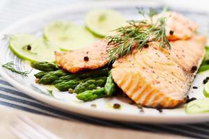 filetto di salmone foto