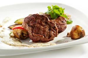 bistecca di maiale foto