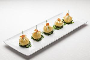 antipasto di cucina raffinata italiana foto
