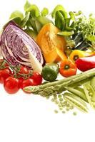 set di verdure fresche